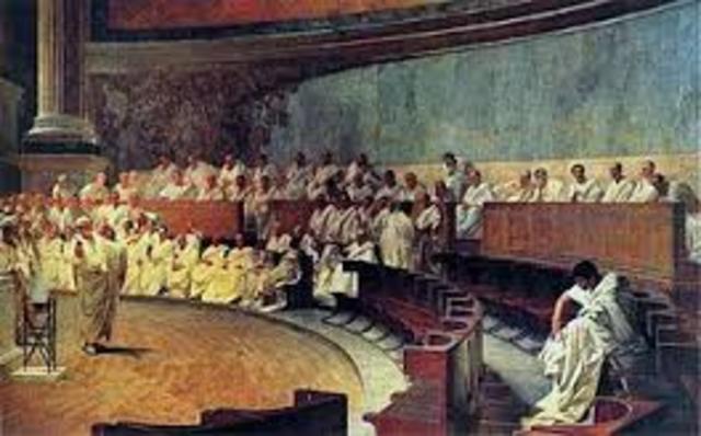 510 a. C El Senado durante la República