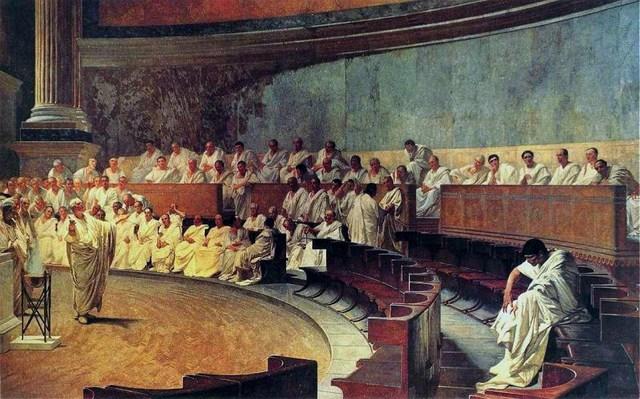 Rómulo crea el senado