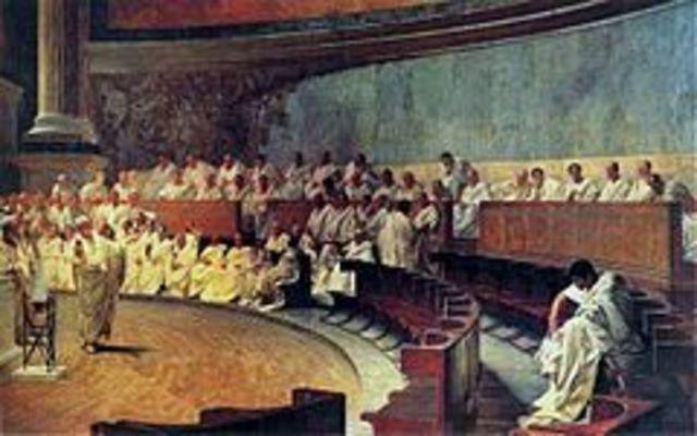 753 a.C El Senado durante la Monarquía