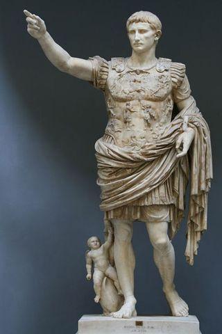 Emperador de la época imperial: César Augusto (27a.C)