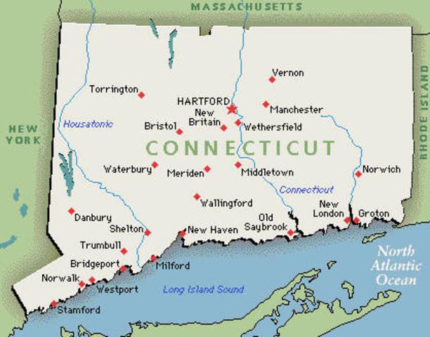 Quinto estado en ratificar la Constitución fue Connecticut