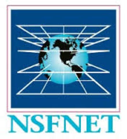 NSFNET TRANSFIIERE 1.5 MILLONES DE BIT POR SEGUNDO.