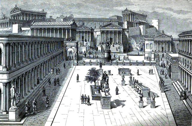 Creación del Comitium (753a.C - 509a.C)