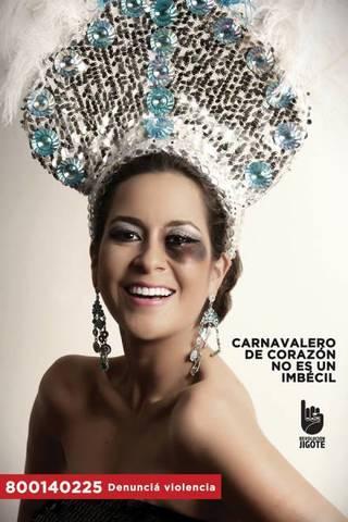 Carnavalero de Corazón NO es un Imbécil – DENUNCIA VIOLENCIA: 800140225