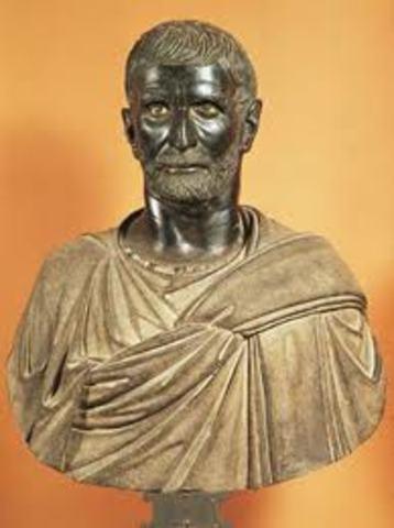 Lucio Tarquinio el Soberbio (reinado c. 534 a. C. – c. 509 a. C.)