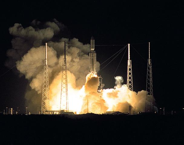 Launch from Cape Canaveral Air Force Station, Florida.