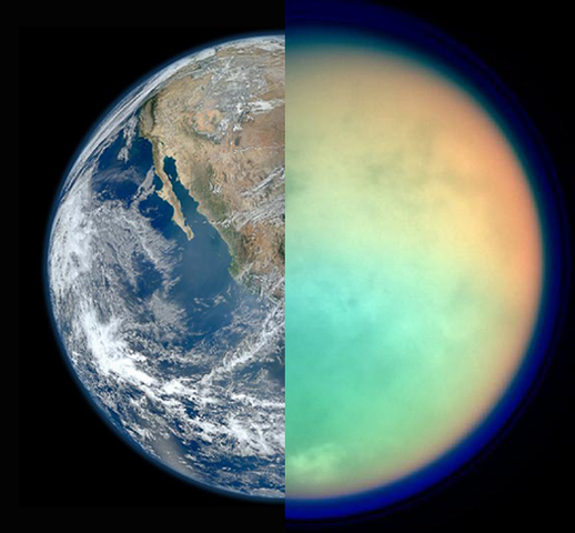 Titan is revealed to be very similar to Earth in terms of structure.