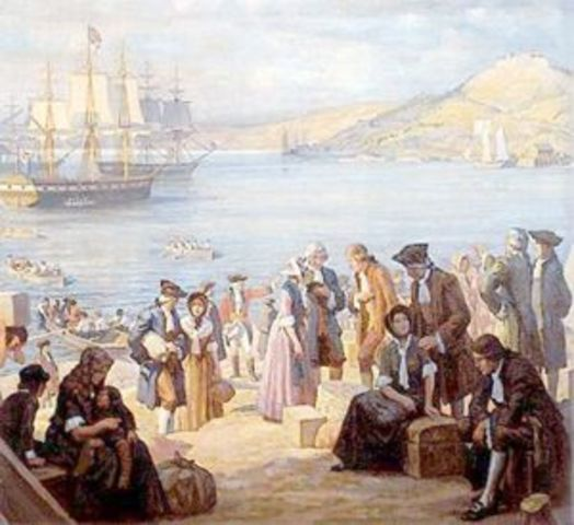 Loyalist immigration