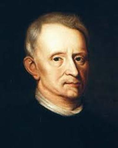 Robert Hooke - built one of the first reflecting microscopes