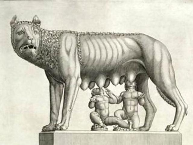 El mito sobre la creacion de Roma.