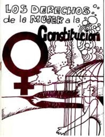 se reconoció la igualdad política y jurídica de las personas de ambos sexos