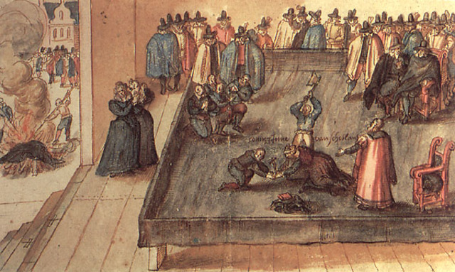 Beheading of Mary Queen of Scots