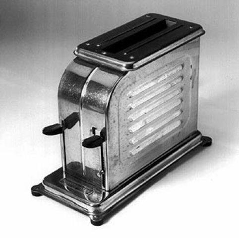First Automatic Pop-Up Toaster