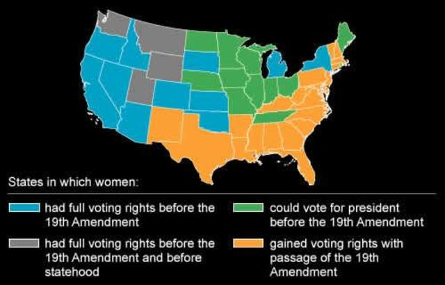 Colorado Grants Voting Rights for Women