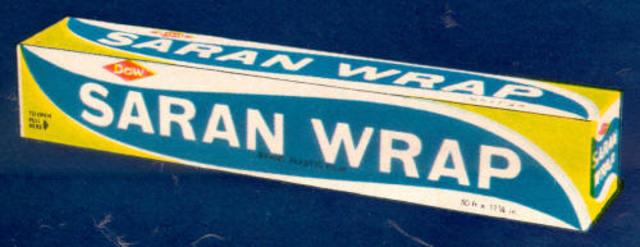 Saran Wrap Invented