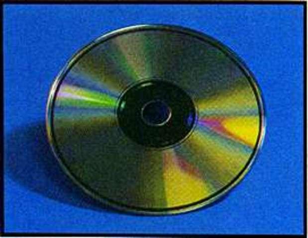 CD-ROM Invented