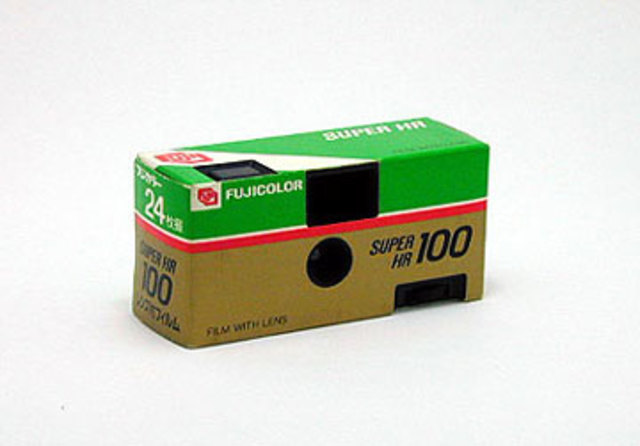 First Disposable Camera