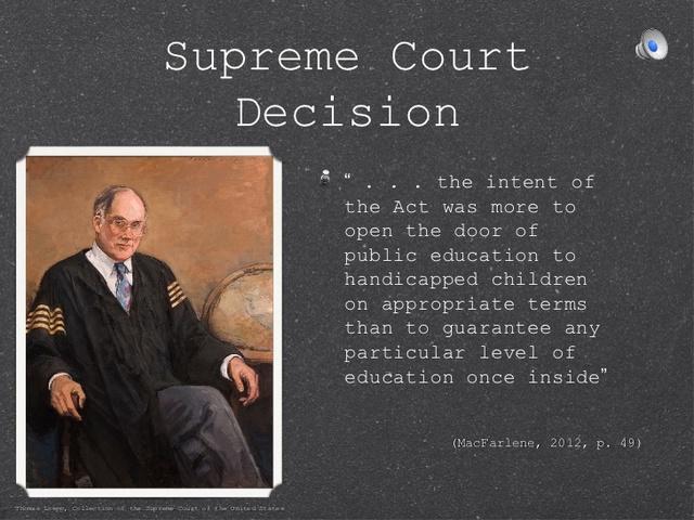 Board of Education v. Rowley