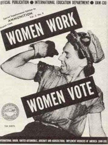 Mujeres y el derecho al voto