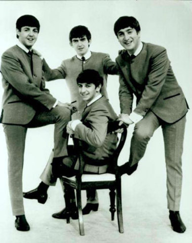 the start of the beatles