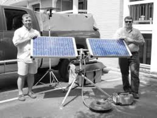 First Silicon Solar Cell Developed at Bell Laboratories