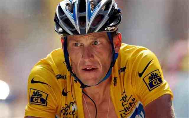 Lance Armstrong.