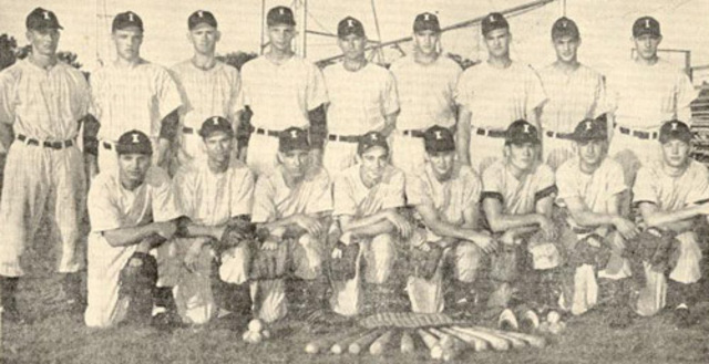 Mickey played for the class D minor league team the independence yanks
