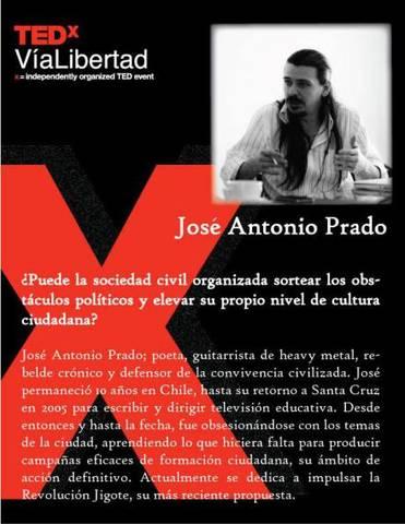 Revolución Jigote con un representante de lujo en la Charla TEDx Via Libertad
