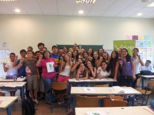 Charla a los alumnos del S2B del Colegio Alemán