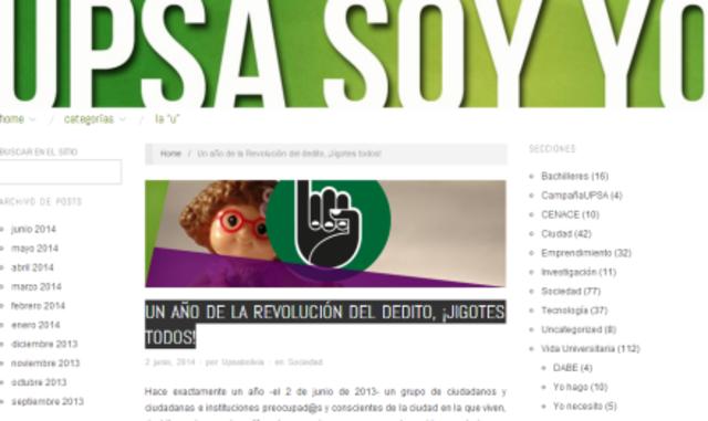 """""""UN AÑO DE LA REVOLUCIÓN DEL DEDITO, ¡JIGOTES TODOS!"""""""