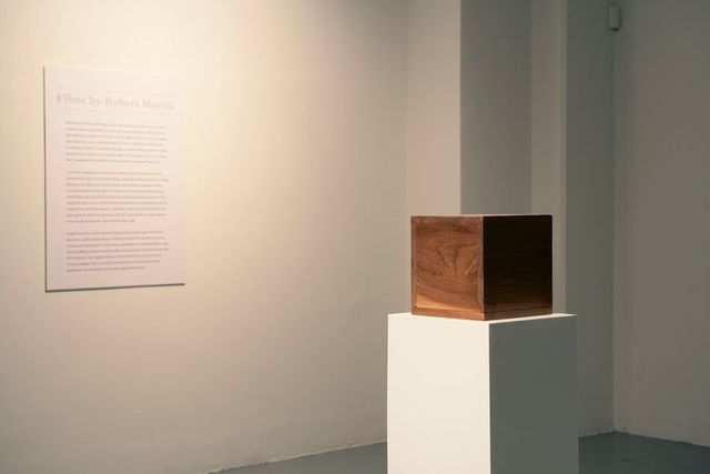 """Robert Morris creates """"Box with the sound of its own making"""""""