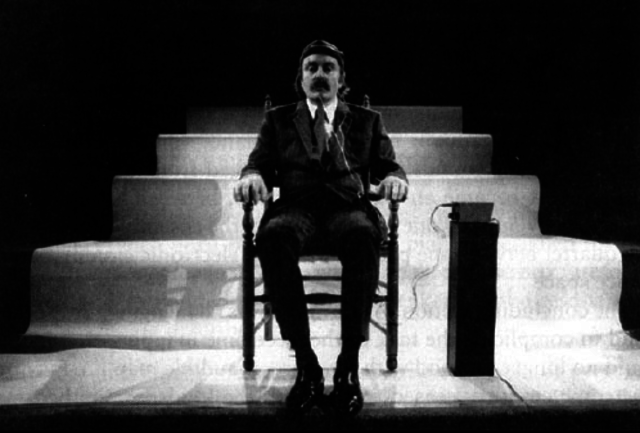 "Alvin Lucier creates ""Music for a Solo Performer"""