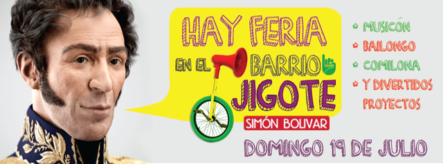 ¡Hay Feria en el Barrio Jigote!