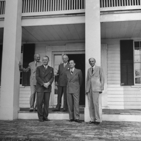 Henry Ford y Charles Sorenson