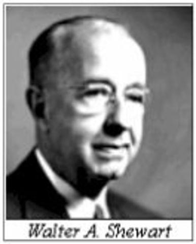 Walter Shewart control estadistico de calidad