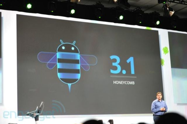 android 3.1 y 3.2