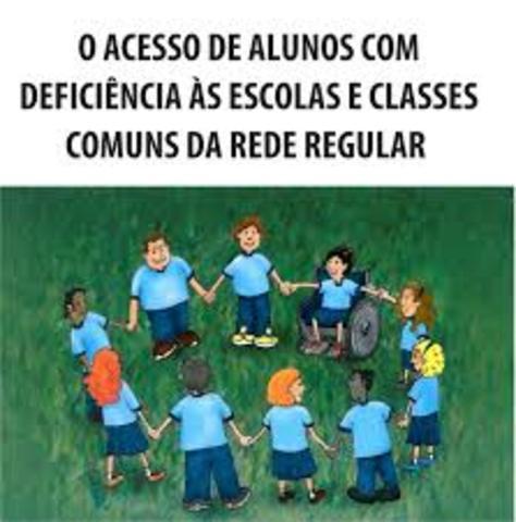 O Acesso de Alunos com Deficiência às Escolase Classes Comuns da Rede Regular,
