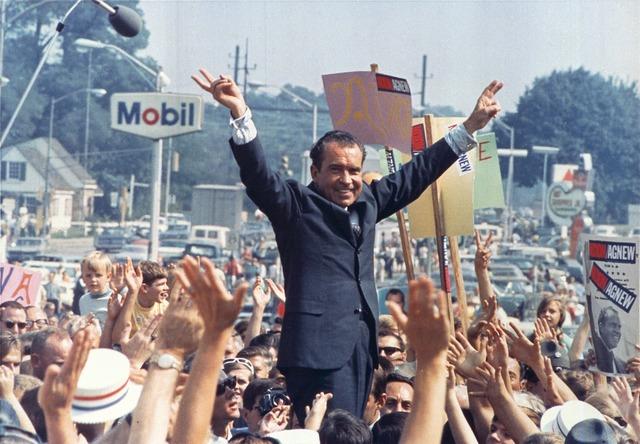 Richard Nixon wins Presidential Election