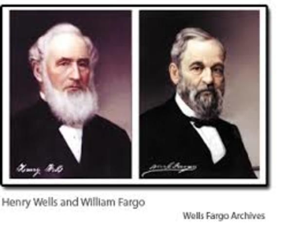 HENRY WELLS Y WILLIAM FARGO
