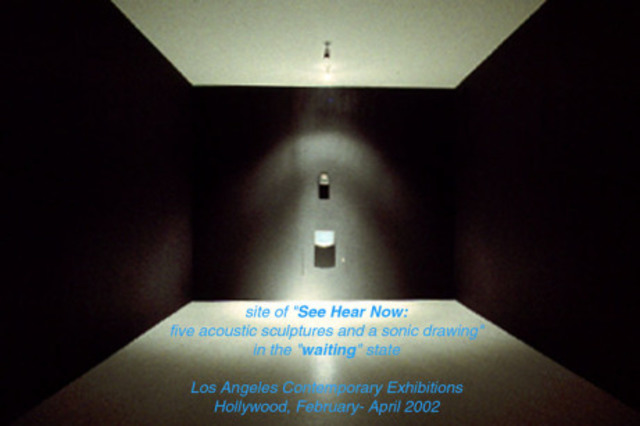"""Michael Brewster presents his exhibition """"See Hear Now"""""""