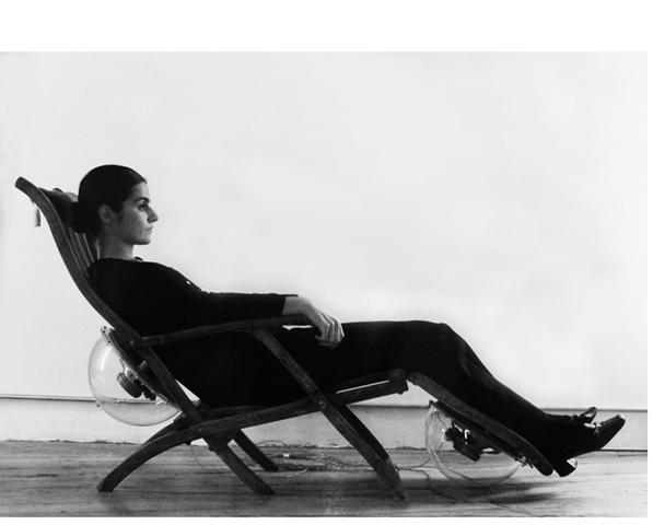 """Bernhard Leitner creates """"Sound Chair"""", 1975"""