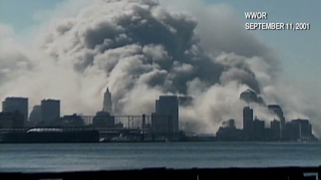 The World Trade Center is attacked