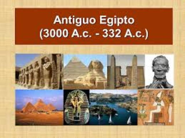 Egipto (3000 A.C. – 332 A.C.)