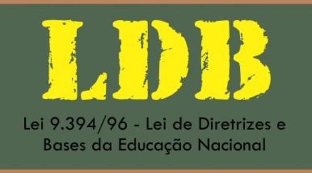 Criada no Brasil a Lei de Diretrizes e Bases da Educação Nacional nº 9394/96 – LDB