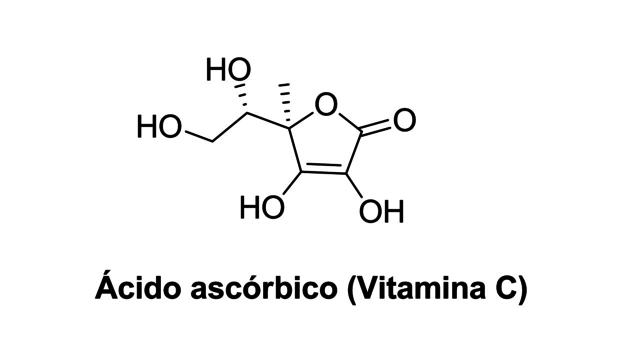 Estructura de Vitamina C