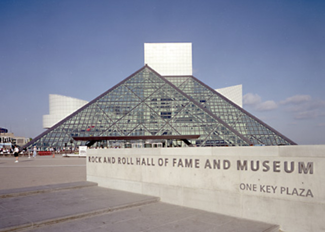 Madonna went into the Rock And Roll Hall Of Fame