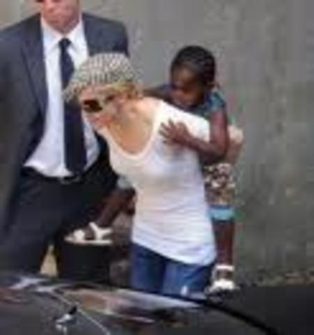 Madonna Adopted David