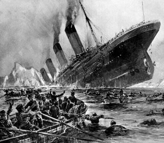 Affondo del Titanic