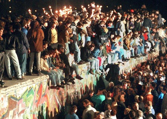 Crollo del muro di Berlino
