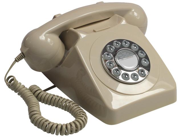 The push-botton phone